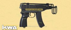 KWA VZ61 Skorpion Gas Blow Back (System7 Taiwan version)